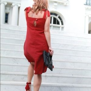 Dresses - Red cocktail dress